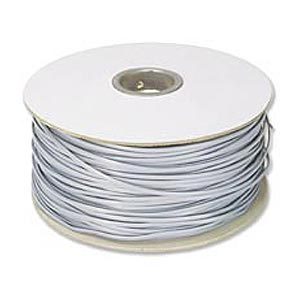 1000ft. Telephone RJ11 (RJ12) 6-Wire Bulk Cable, Silver Satin ZT1800490 - Ziotek