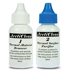 Arcticlean 1 And 2 Surface Cleaner 60ml Kit ACN-60ML - Arctic Cooling