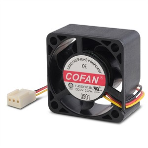 Case Fan Ball Bearing 3-Pin 40mm X 40mm X 20mm FP420FH12B - Cofan