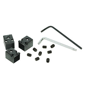 RJ45 Patch Cord Locks, Black, 12 Locks RJ45PLOCK-12 - RJ Lockdown