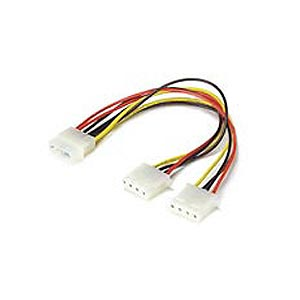 Power Supply 4-Pin Molex Y-splitter 18AWG ZT1130270 - Ziotek