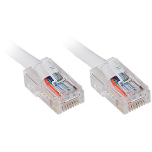 100ft. CAT5e UTP Patch Cable, White - Universal