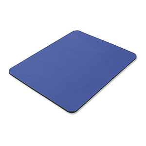 200 Pack, Mouse Pad, Foam, 9in X 8in, Blue ZT1070131 - Ziotek