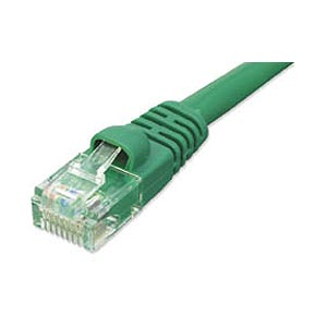 3ft. CAT6 Patch Cable With Boot Green ZT1197148 - Ziotek