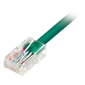 10ft Cat5e UTP Patch Cable, Green - Universal