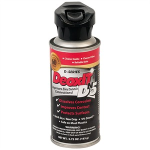 DeoxIT DN5 Metal Contact Cleaner, 5.75oz. DN5S-6N - Caig Laboratories