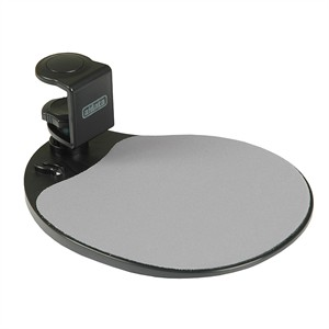 Mouse Platform Under Desk Mount Black Um003b
