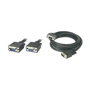 6ft. VGA HD15 Cable Male To Female Low Loss ZT1282240 - Ziotek
