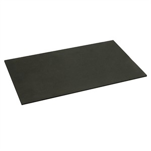 Standard Tech Station Neoprene Rubber Mat, 7in X 13in, Black - HighSpeed PC