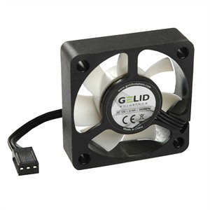 Silent6 60mm Silent Case Fan, 3 Pin Molex, Black FN-SX06-38 - GELID
