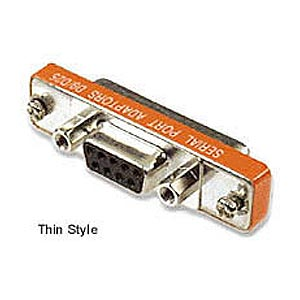 Adapter Thin DB9 Female To DB25 Male ZT1310142 - Ziotek