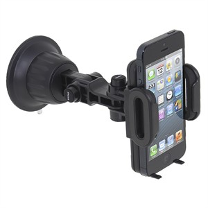 Universal Smartphone Mount, Dash Or Windshield, Black CR3600 - Satechi
