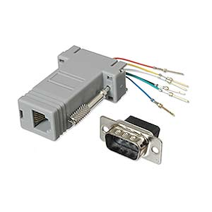 Modular Adapter DB9 M To RJ11 / RJ12 ZT1312010 - Ziotek