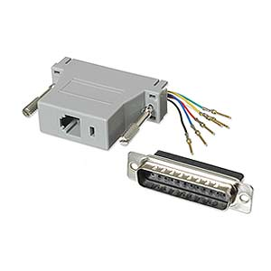 Modular Adapter DB25 M To RJ11 / RJ12 ZT1312030 - Ziotek