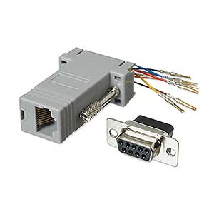 Modular Adapter DB9 F To RJ45 ZT1312040 - Ziotek