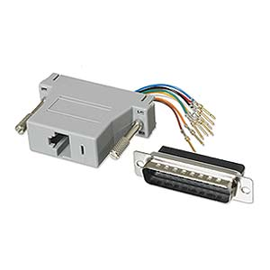Modular Adapter DB25 M To RJ45 ZT1312070 - Ziotek