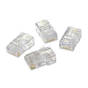 EZ-RJ45 Cat5 / 5e Plug Connectors, 50 Pack 100003C - Platinum Tools