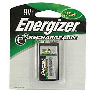 Rechargeable Battery 9V 175mAh NH22-175 - Energizer