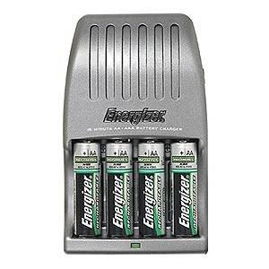 15 Minute Battery Charger CH15MNCP4 - Energizer