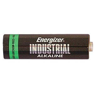 Industrial AA Battery, Alkaline, 24 Pack EN91 - Energizer