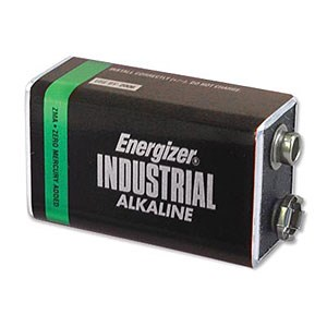 9V Battery, Alkaline 12 Pack EN22 - Eveready Battery