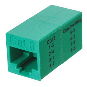 CAT6 Inline Crossover Coupler - Universal