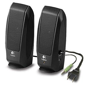 PC Multimedia Speakers Black 980-000012 - OEM - Logitech