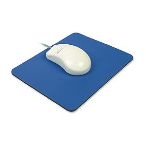 Mouse Pad, Foam, 9in X 8in, Blue ZT1070130 - Ziotek