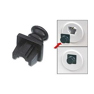 RJ45 Jack Snap-in Dust Cover Inside Jack - Universal