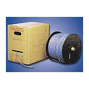 1000ft. CAT5e Stranded Bulk Cable, White ZT1205340 - Ziotek