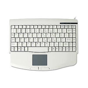 Comfortable Compact PS2 Keyboard With Touchpad ACK-540 - Solidtek
