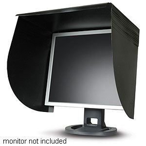 CompUshade Universal Monitor Hood Fits 15in. To 22in. DESKTOP-UNV - DulCo