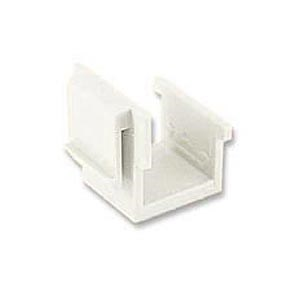 Blank Plug For Keystone Faceplate White ZT1800305 - Ziotek