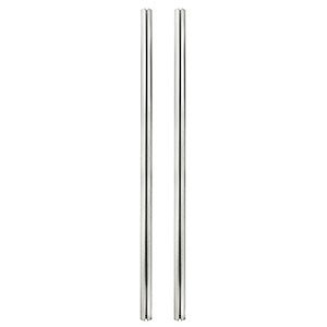 Quad-Groove Pole For Mobile Cart, 67in. Tall ZT1110345 - Ziotek