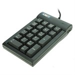 Low-Force Numeric Keypad AC210USB-BLK - Kinesis