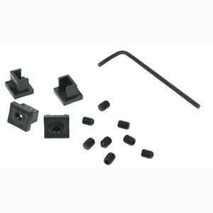 RJ45 Jack Locks, Black, 12 Locks RJ45JLOCKB-12 - RJ Lockdown