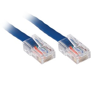 100ft. CAT5e UTP Patch Cable, Blue - Universal