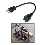 14in Power Strip Liberator  Extension Cable, 5 Pack ZT1212542 - Ziotek