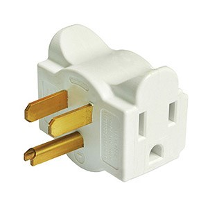 Dual Outlet Wall Adapter, White DG1.S.12.0 - Hug A Plug