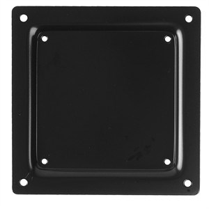 VESA Monitor Mount Adapter Plate, 75 To100mm, Black ZT1110368 - Ziotek