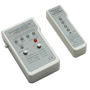 Multifunction RJ45 / RJ11 Cable Tester 351898 - Intellinet