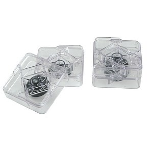Consumer Products Raise-Its Workstation Risers, Clear, 8 Risers 820-533-S - Headwind