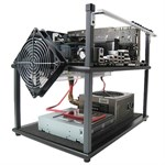 Top Deck Tech Station, XL-ATX, Black TD_TECHSTATION_XL - HighSpeed PC
