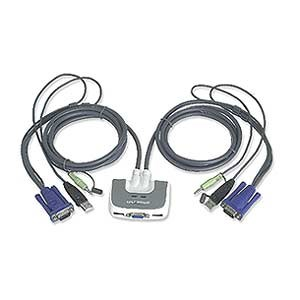 2 Port USB Audio KVM Switch GCS632U - IOGEAR