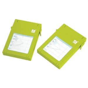 2.5in HDD Protector, Green, 2 Pack ZIO-P210-GR - MUKii