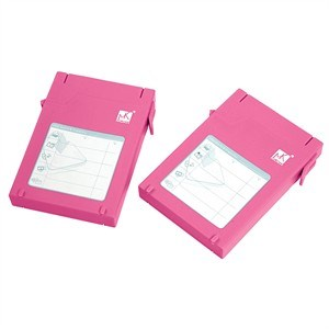 2.5in HDD Protector, Pink, 2 Pack ZIO-P210-PK - MUKii