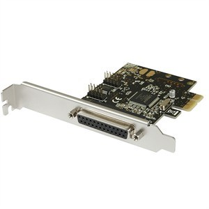 Combo 2 Port Serial, 1 Port Parallel PCI-e Card - Universal