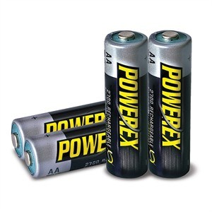 AA 2700mAh NiMH Rechargeable Battery, 4 Pack MHRAA4 - PowerEx