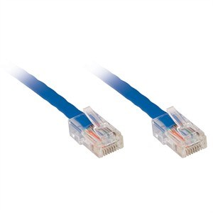 10ft CAT6 Non-Booted Network Patch Cable, UTP, Blue ZT1197288 - Ziotek