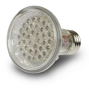 Outdoor Security LED Bulb, 4W, 36 LED Density, White 605027 - MiracleLED
